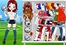 Futbolcu Kız Giydirme