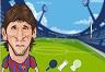 Messi ve Ronaldo Kavga
